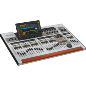 Behringer WING 48-Channel, 28-Bus Digital Mixing Console with 10″ Touch Screen